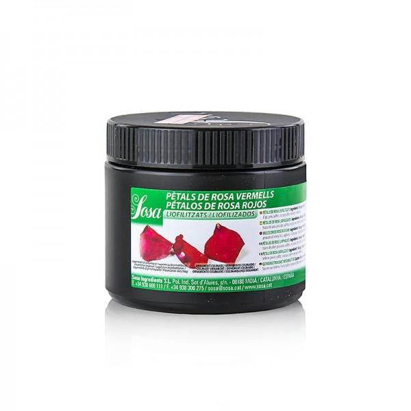 Sosa - Sosa Rosenblütenblätter rot gefriergetrocknet (47840030)