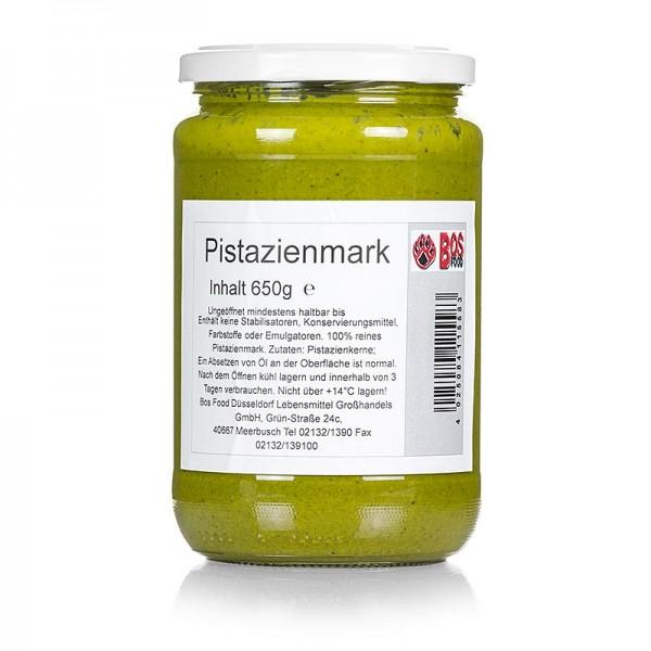 Bos Food - BOS FOOD Pistazien-Mark 100% Mark ohne Zusatzstoffe