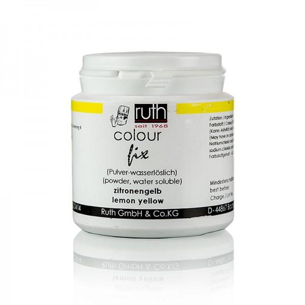 Ruth - Lebensmittelfarbe zitronengelb wasserlösliche Pulverfarbe 9101 Ruth