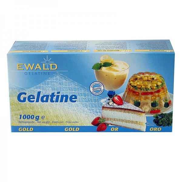Ewald Gelantine - Blatt-Gelatine - Gold 210 Bloom