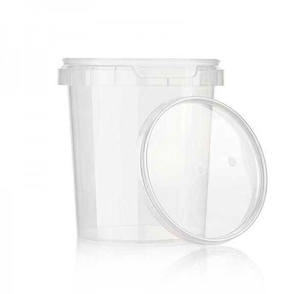 Deli-Vinos Kitchen Accessories - Kunststoffdose Circlecup rund mit Deckel ø 133x130mm 1200ml