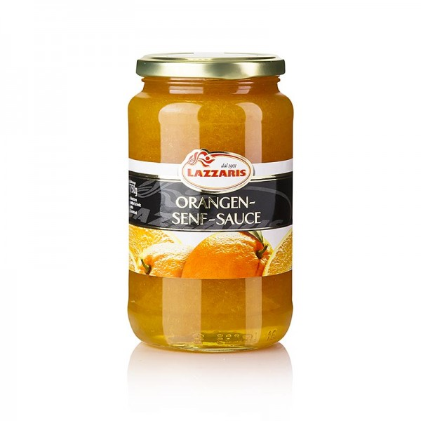 Lazzaris - Lazzaris -Orangen-Senf-Sauce nach Tessiner Art