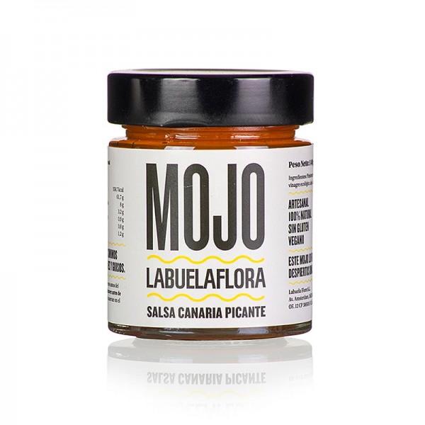Labuelaflora - Mojo Picante kanarische rote pikante Salsa 140g Labuelaflora