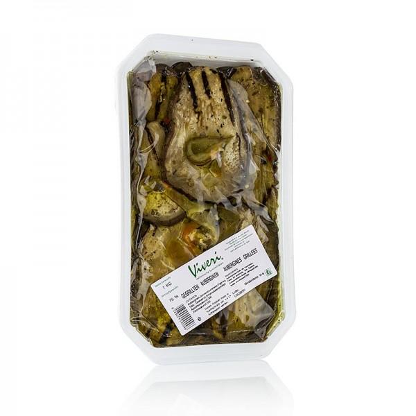 Viveri - Eingelegte Auberginen gegrillt in Sonnenblumenöl