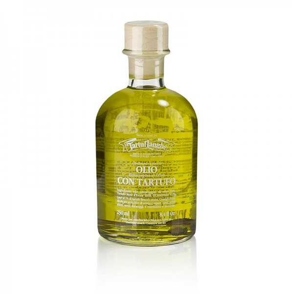 Tartuflanghe - Natives Olivenöl Extra mit Sommertrüffel & Aroma (Trüffelöl) Tartuflanghe