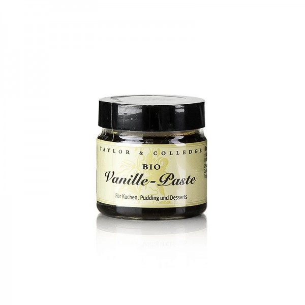 Taylor & Colledge - Australien Vanille-Extrakt-Paste mit Stippen Taylor & Colledge BIO