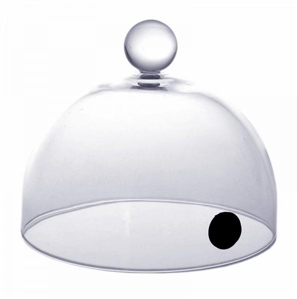 Aladin-Profi - Räucher-Glasglocke Rubi mit Ventil 13cm für Super-Aladin-Profi