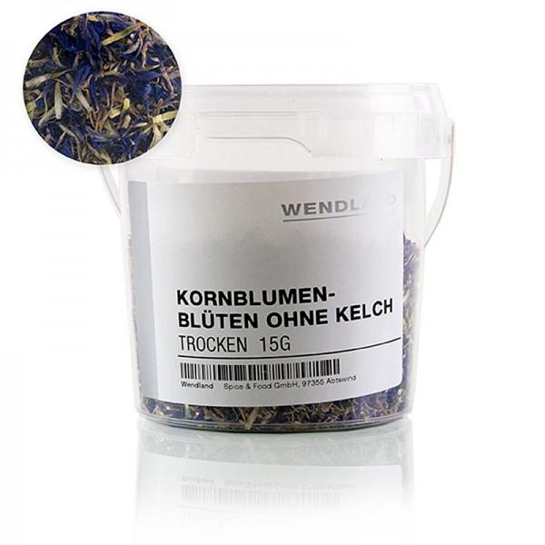 Cucina Exotica - Wendland - Kornblumenblütenblätter blau getrocknet