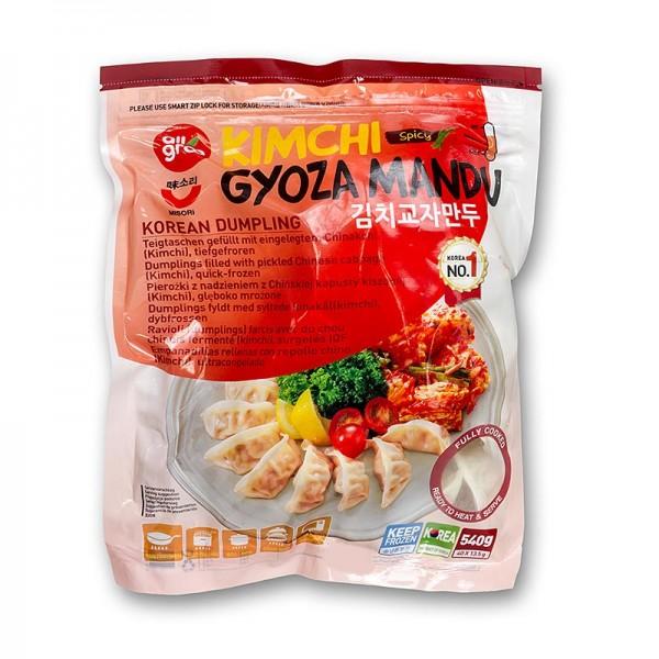 Deli-Vinos Asia - Wan Tan - Gyoza Teigtaschen mit Kimchee Füllung (Chinakohl) TK