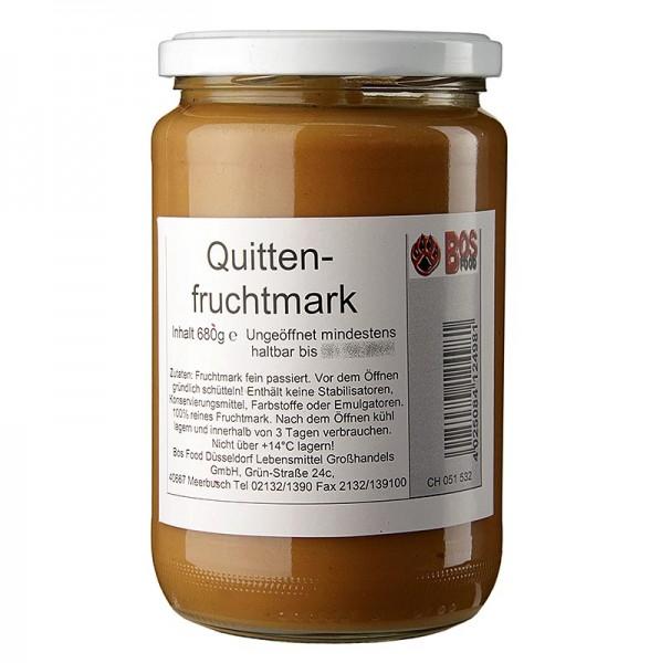 Bos Food - Quitten-Püree/Mark fein passiert