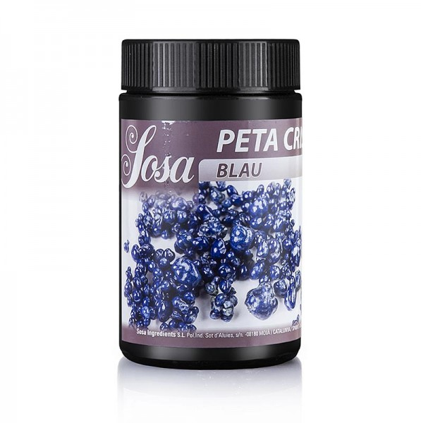 Sosa - Peta Crispy (Knallbrause) Blau Kakaobutter ummantelt Wetproof