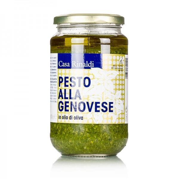 Casa Rinaldi - Pesto Genovese vegan & laktosefrei (Basilikum-Sauce) Casa Rinaldi