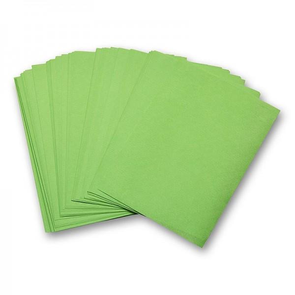 Deli-Vinos Kitchen Accessories - Einschlagpapier fettbeständig Zuschnitte grün 19x28cm