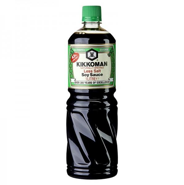 Kikkoman - Soja-Sauce - Shoyu Kikkoman Genen 43% weniger Salz Japan
