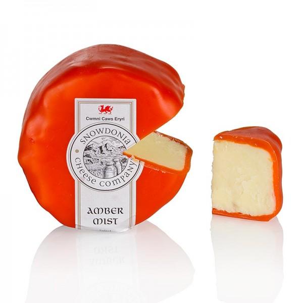Snowdonia - Snowdonia - Amber Mist Cheddar Käse mit Whisky oranger Wachs
