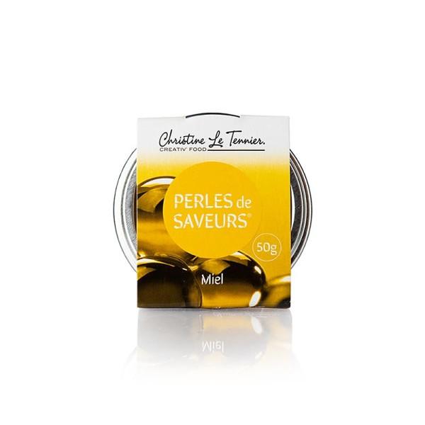 Les Perles - Würzkaviar Honig Perlgrösse 5 mm Spherical Les Perles
