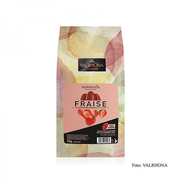 Valrhona - Valrhona Inspiration Erdbeere Erdbeerspezialität mit Kakaobutter
