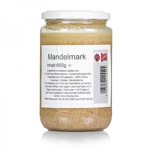 Bos Food - BOS FOOD Mandel-Mark 100% Mark ohne Zusatzstoffe