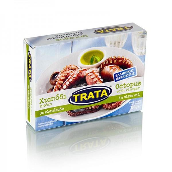 Trata - Oktopus in Vinaigrette und Olivenöl aus dem Ägäischen Meer Trata