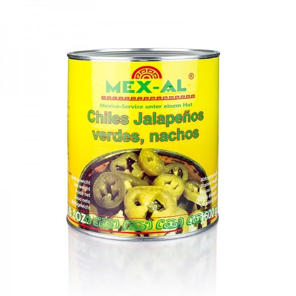 Mex-Al - Chili Schoten - Jalapenos geschnitten