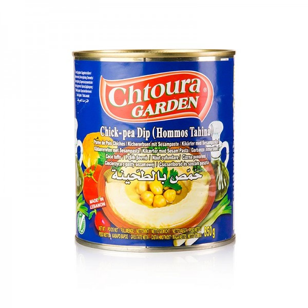 Chtoura - Hummus Tahini - Kichererbsenpüree mit Sesam Chotura