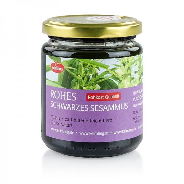 Keimling - Schwarzes Sesammus Roh 100% natur vegan BIO