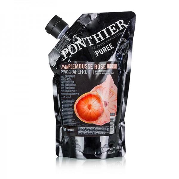 Ponthier - Püree- Rosa Grapefruit 100% Frucht ungezuckert