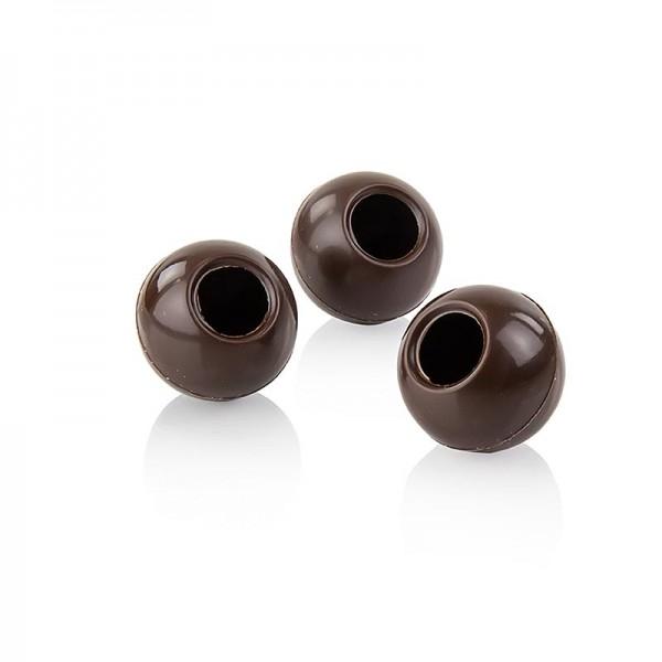 Läderach - Trüffel-Hohlkugeln Zartbitterschokolade ø 24mm Läderach