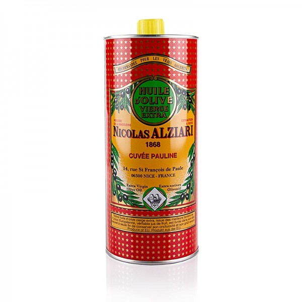 Alziari - Natives Olivenöl Extra Cuvée Pauline (Intensiv) Alziari BIO