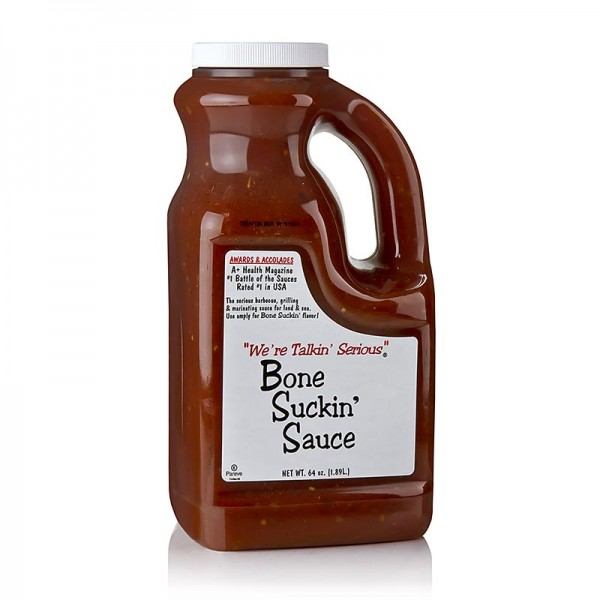 Bone Suckin' - Bone Suckin´ Sauce Regular BBQ Sauce Ford´s Food