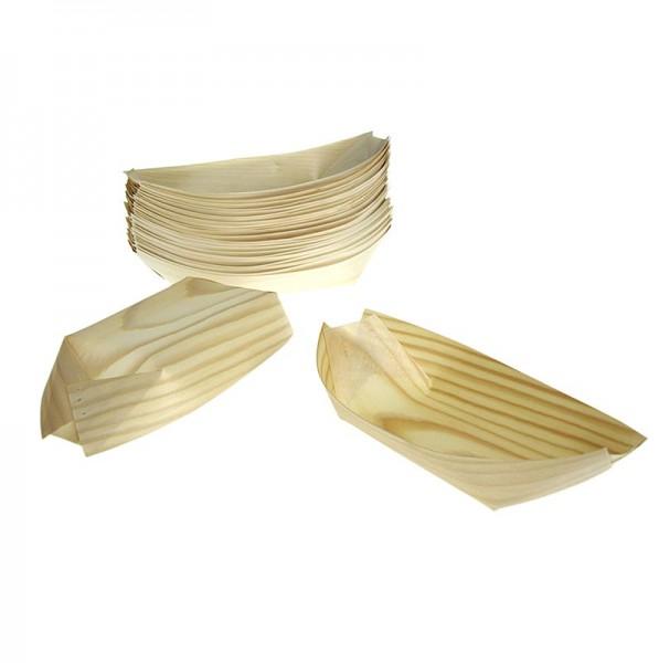 Deli-Vinos Kitchen Accessories - Einweg Boot aus Holz 11cm hitzebeständig bis 180° C