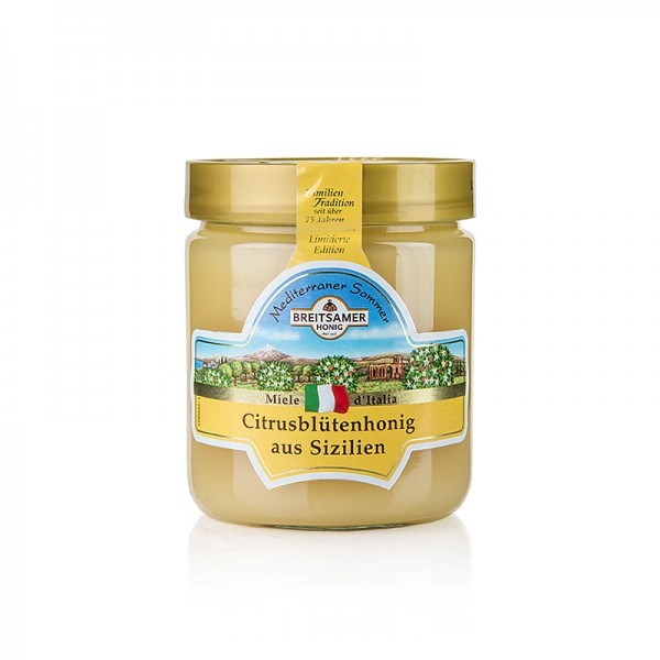 Breitsamer Honig - Breitsamer Honig Mediterraner Sommer Citrusblüte aus Sizilien