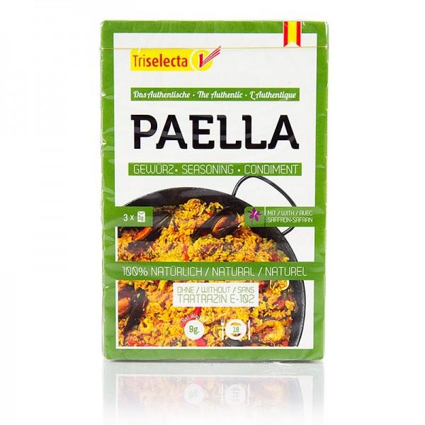 Triselecta - Paellagewürz mit echtem Safran 3x3g
