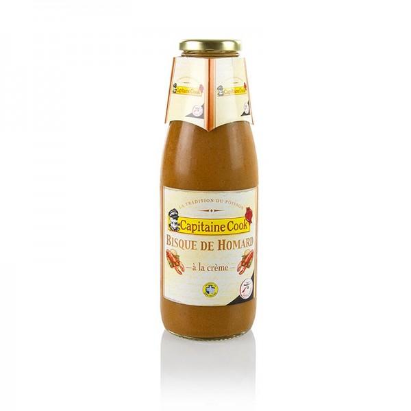 Capitaine Cook - Hummer-Suppe - Bisque für 3-4 Portionen