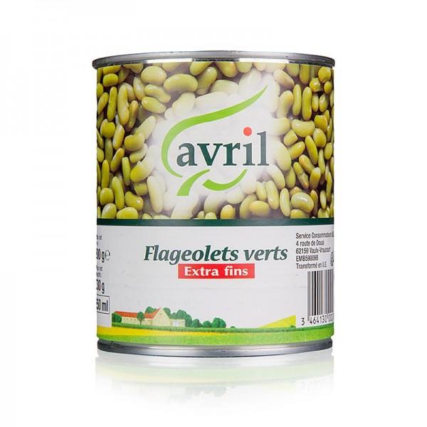 Avril - Flageolets Bohnenkerne eingelegt