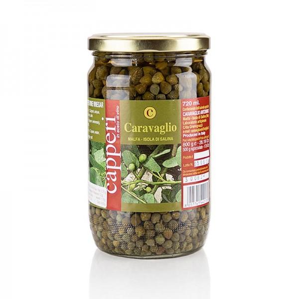 Caravaglio - Kapern extra klein (Nonpareilles) in Essig Caravaglio