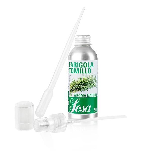 Sosa - Aroma Natural Thymian flüssig