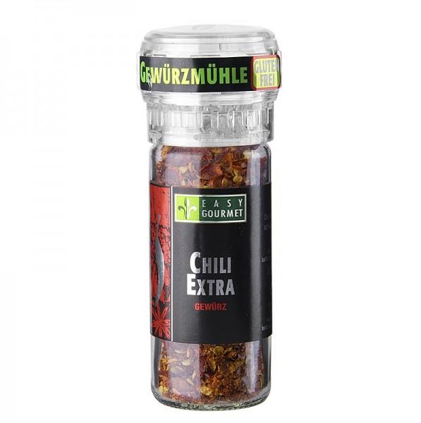 Easy Gourmet - Gourmet-Gewürzmühle Chili Extra scharf Easy Gourmet