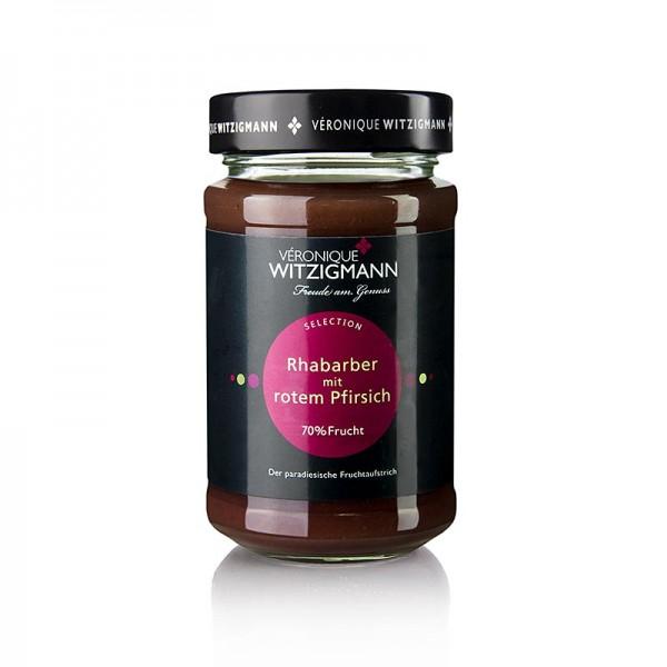 Veronique Witzigmann - Rhabarber mit rotem Pfirsich - Fruchtaufstrich