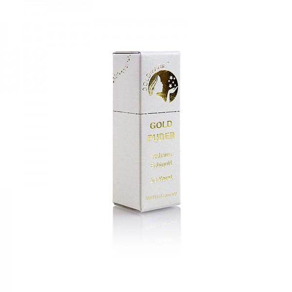 Goldmarie - Gold - Blattgoldflocken Streuer Goldmarie 23 Karat ca.0.5-1mm²