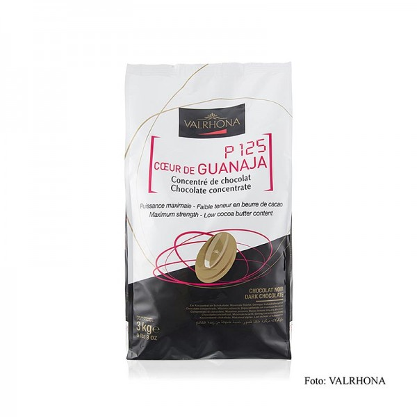 Valrhona - Coeur de Guanaja dunkle Couverture Callets 80% Kakao kakaobutterarm