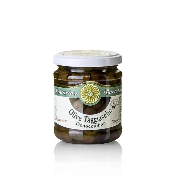 Venturino - Oliven Mischung grüne & schwarze Taggiasca-Oliven ohne Kern in Öl Venturino