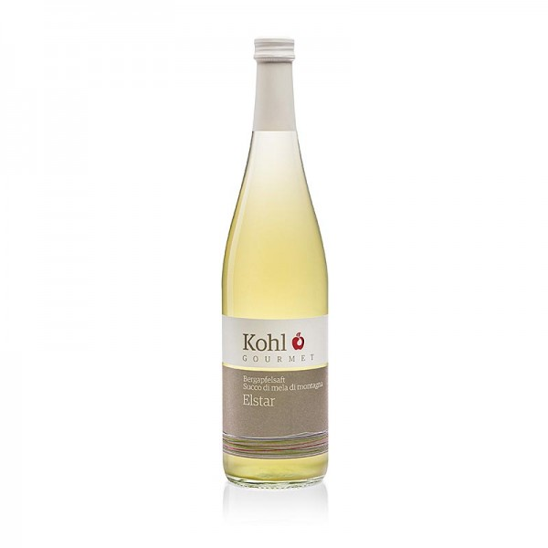 Kohl Gourmet - Gourmet Bergapfelsaft Elstar