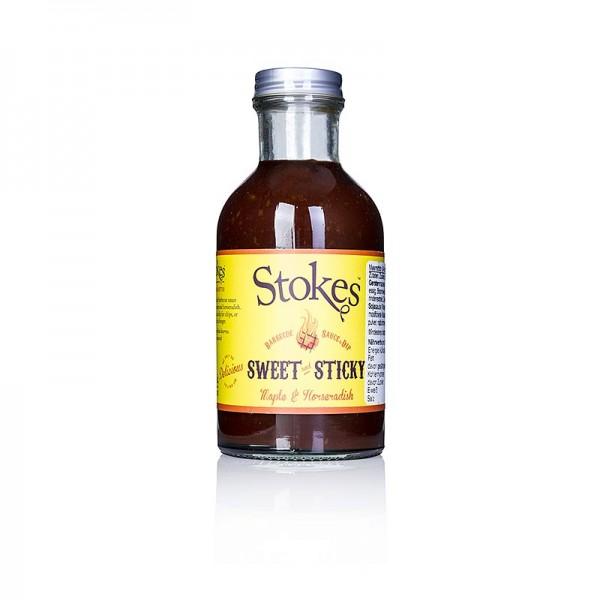 Stokes - Stokes BBQ Sauce Sweet & Sticky mit Meerrettich