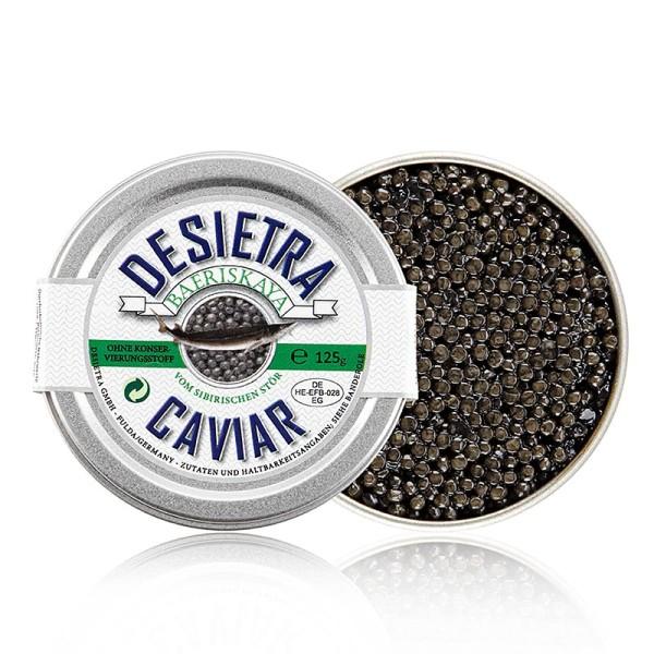 Desietra Baeriskaya - Desietra Baeriskaya Kaviar (baerii) Aquakultur ohne Konservierungsmittel