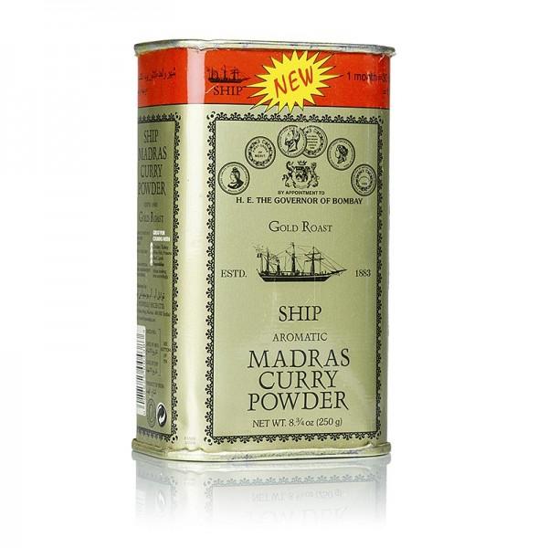 Poonjiaji - Curry Pulver Madras - Gold Roast grüne Dose Poonjiaji