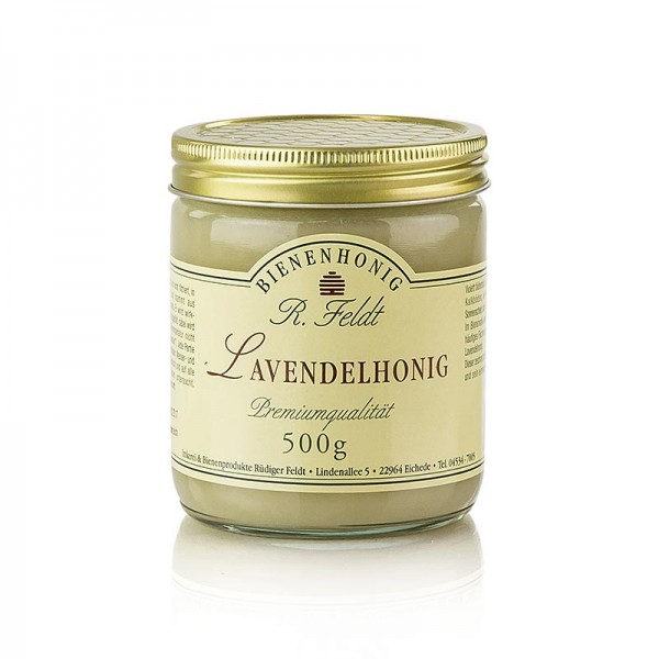 R. Feldt Bienenhonig - Lavendel-Honig Frankreich weiß cremig vollblumig