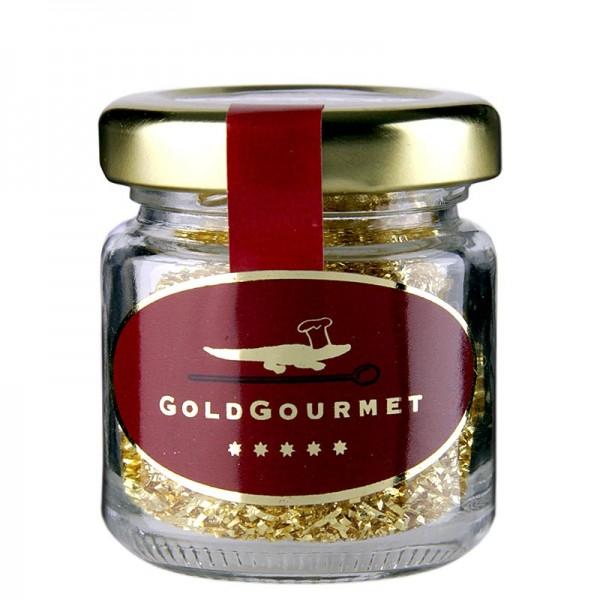 Goldgourmet - Gold - Filament Blattgoldfäden fein 22 Karat E175