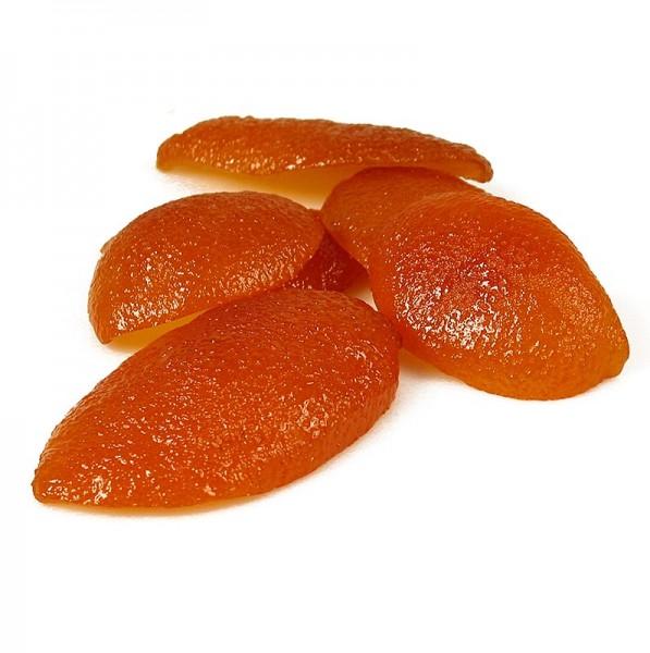 Deli-Vinos Patisserie - Orangeat kandierte Orangenschale geviertelt Corsiglia Facor