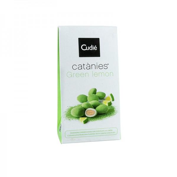 Catanies - Catanies green lemon span. Mandeln in Zitronenschokolade Cudies